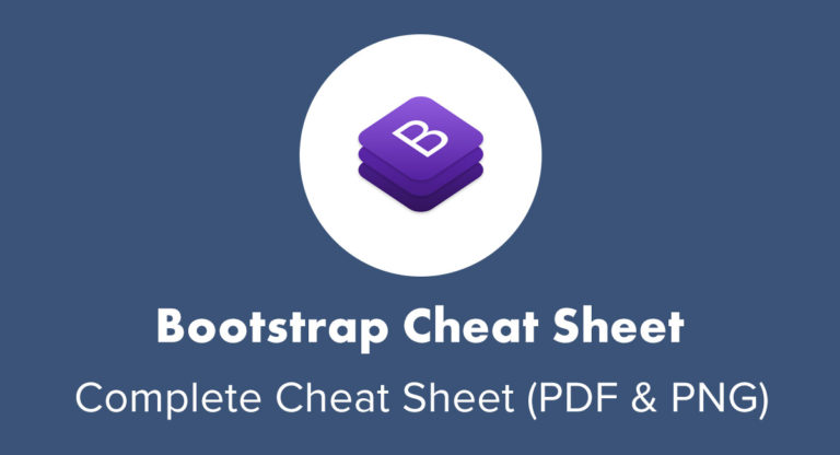 Web Development Inspiration - Bootstrap Cheat Sheet