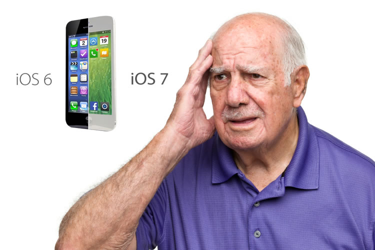 Old man confused about iOS 7
